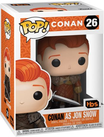 Figurine Funko Pop Conan O'Brien #26 Conan en Jon Snow