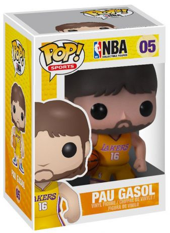 Figurine Funko Pop NBA #05 Pau Gasol - Los Angeles Lakers