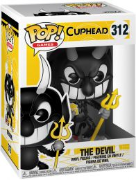 Figurine Funko Pop Cuphead #312 Le Diable