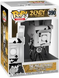 Figurine Funko Pop Bendy and the Ink Machine #390 Le projectionniste