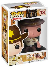 Figurine Funko Pop The Walking Dead #13 Rick Grimes
