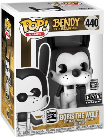 Figurine Funko Pop Bendy and the Ink Machine #440 Boris le Loup