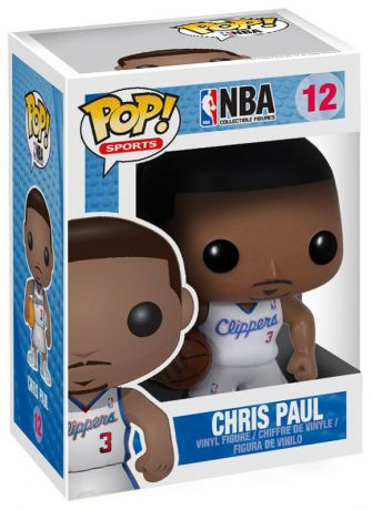 Figurine Funko Pop NBA #12 Chris Paul - Los Angeles Clippers