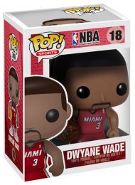 Figurine Funko Pop NBA #18 Dwayne Wade - Miami Heat