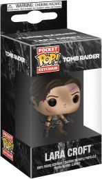 Figurine Funko Pop Tomb Raider #0 Lara Croft - Porte-clés