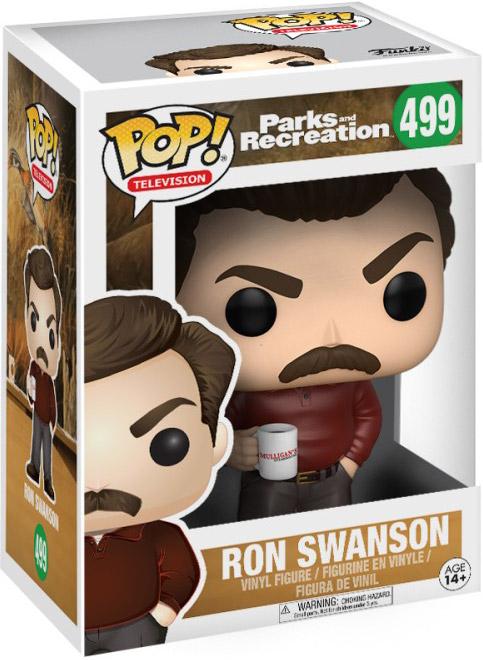 Parcs et loisirs-Ron Swanson Figure 499 Funko POP Television
