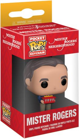 Figurine Funko Pop Fred Rogers #00 Mister Rogers - Porte-clés