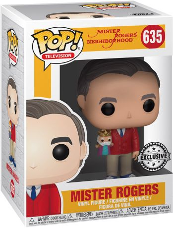 Figurine Funko Pop Fred Rogers #635 Mister Rogers