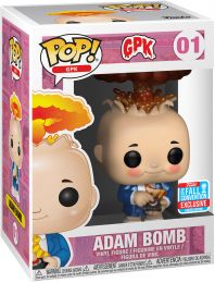Figurine Funko Pop Les Crados #1 Frederic Atomic - Métallique