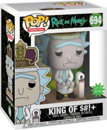 Figurine Funko Pop Rick et Morty #694 Roi de S#!+
