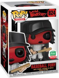 Figurine Funko Pop Les Guerriers de la nuit #824 Baseball Fury Rouge