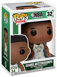 Figurine Funko Pop NBA #32 Giannis Antetokounmpo - Milwaukee Bucks