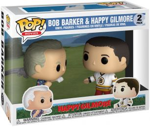 Figurine Funko Pop Happy Gilmore #0 Bob Barker & Happy Gilmore - 2 pack