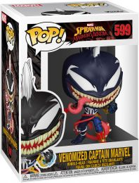 Figurine Funko Pop Spider-man : Maximum Venom [Marvel] #599 Captain Marvel Vénomisée