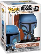 Figurine Pop Star Wars : Le Mandalorien #354 Death Watch Mandalorian (Two Stripes)