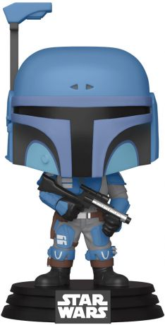 Figurine Funko Pop Star Wars : Le Mandalorien #354 Death Watch Mandalorian (Two Stripes)