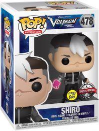 Shiro Glow in the dark Funko Pop Vinyle Voltron légendaire défenseur des habits normaux