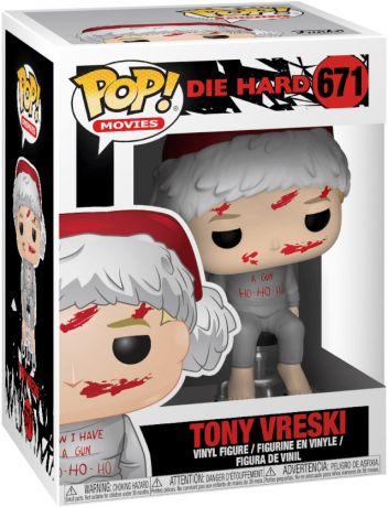 Figurine Funko Pop Die Hard #671 Tony Vreski
