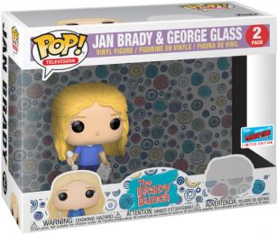 Figurine Funko Pop The Brady Bunch #0 Jan & George Glass - 2 pack
