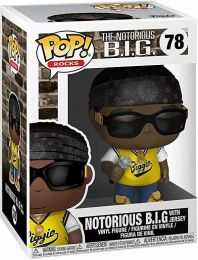 Figurine Funko Pop Notorious B.I.G #78 Notorious BIG avec Maillot