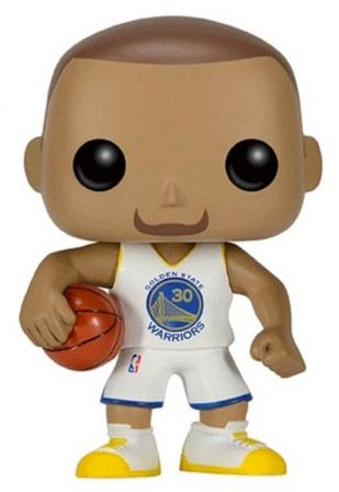 Figurine Funko Pop NBA #19 Stephen Curry - Golden State Warriors - Maillot Blanc