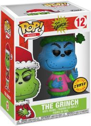 Figurine Funko Pop Le Grinch #12 The Grinch en Père Noël [Chase]