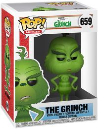 Figurine Funko Pop Le Grinch #659 Le Grinch