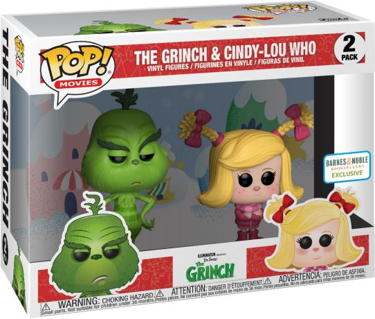Figurine Funko Pop Le Grinch #00 Le Grinch & Cindy-Lou Who - 2-Pack