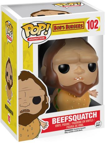 Figurine Funko Pop Bob's Burgers #102 Beefsquatch