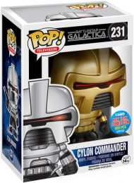 Figurine Funko Pop Battlestar Galactica #231 Commandant  Cylon
