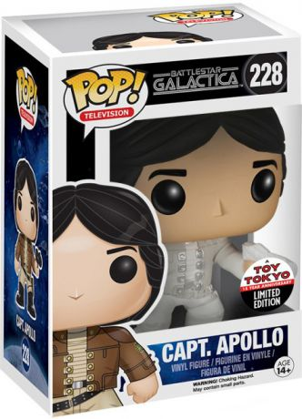 Figurine Funko Pop Battlestar Galactica #228 Capitaine Apollo