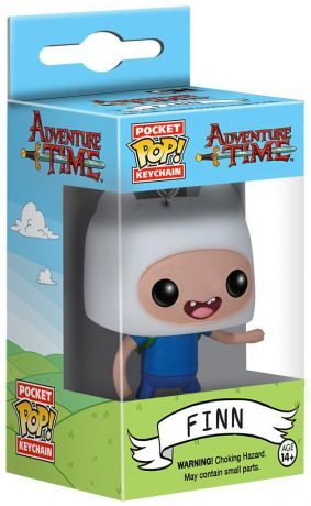 Figurine Funko Pop Adventure Time #00 Finn - Porte-clés