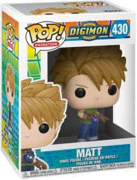 Figurine Funko Pop Digimon #430 Matt