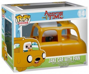 Figurine Pop Adventure Time #14 Jake Car with Finn pas chère
