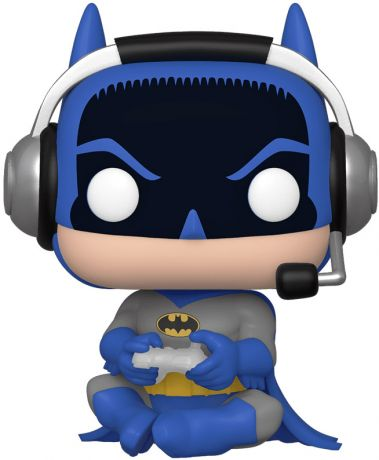 Figurine Funko Pop Batman [DC] #294 Batman (Gamer) [Chase]