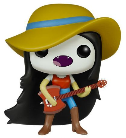 Figurine Funko Pop Adventure Time #301 Marceline - Chapeau & Guitare Hache