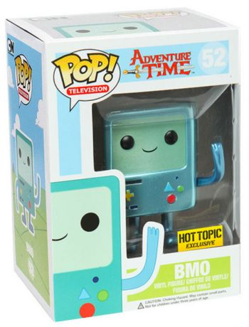 Figurine Funko Pop Adventure Time #52 BMO - Metallic