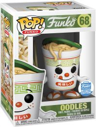 Figurine Funko Pop Fantastik Plastik #68 Oodles