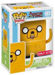 Figurine Pop Adventure Time #187 JMO - Jake en BMO pas chère