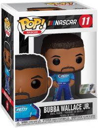 Figurine Funko Pop Nascar #11 Bubba Wallace JR.