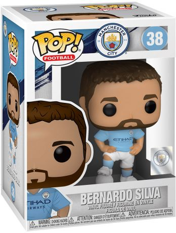 Figurine Funko Pop Premier League #38 Bernardo Silva