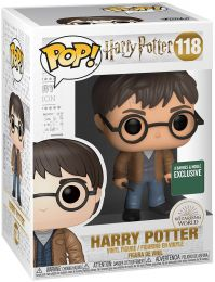 Figurine Funko Pop Harry Potter #118 Harry Potter avec Deux Baguettes