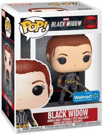 Figurine Funko Pop Black Widow [Marvel] #609 Black Widow