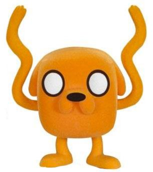 Figurine Funko Pop Adventure Time #33 Jake - Floqué