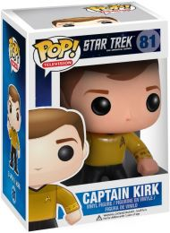 Figurine Funko Pop Star Trek #81 Captain Kirk