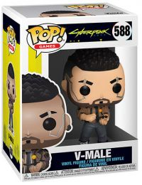 Figurine Funko Pop Cyberpunk 2077 #588 V-Male