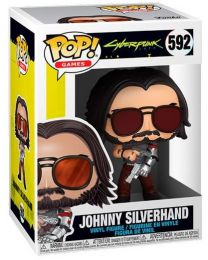 Figurine Funko Pop Cyberpunk 2077 #592 Johnny Silverhand