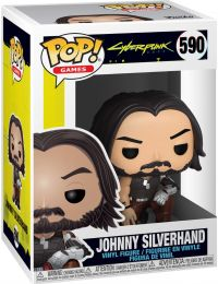Figurine Funko Pop Cyberpunk 2077 #590 Johnny Silverhand