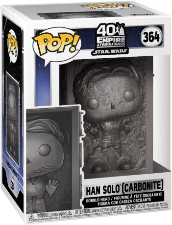 Figurine Funko Pop Star Wars 5 : l'Empire Contre-Attaque #364 Han Solo (Carbonite)