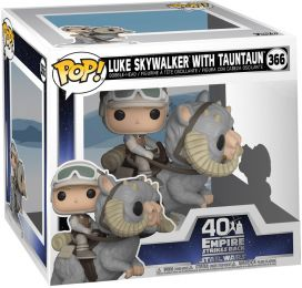 Figurine Funko Pop Star Wars 5 : L'Empire Contre-Attaque #366 Luke Skywalker avec Tauntaun